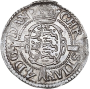 4 Skilling Dansk - Christian IV (Oval shield) -  obverse
