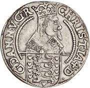 8 Skilling Lybsk - Christian IV (Type 2) – obverse