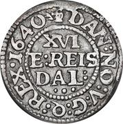 1/16 Reichs Thaler - Christian IV (Legend type I) – reverse