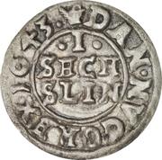 1 Søsling Lybsk - Christian IV – reverse