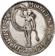 1 Speciedaler - Christian IV (Type 1) – reverse