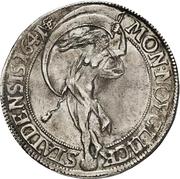 1 Speciedaler - Christian IV (Type 2) – reverse
