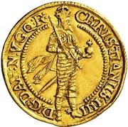 1 Ducat - Christian IV – obverse
