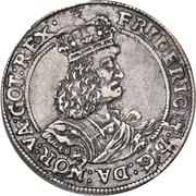 ⅛ Reichs Daler - Frederik III – obverse