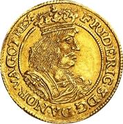 1 Ducat - Frederik III – obverse