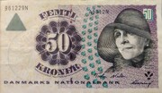 50 Kroner. (1997Serie Famous men and women Type 1) -  obverse