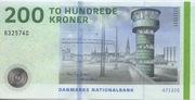 200 Kroner (2009 Serie Danish Bridges and Antiquities) – obverse