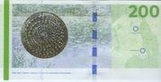 200 Kroner (2009 Serie Danish Bridges and Antiquities) – reverse