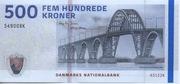 500 Kroner (2009 Serie Danish Bridges and Antiquities) -  obverse