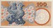 100 Kroner (1997 Serie Famous Men and Women Type 2) -  reverse