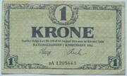 1 Krone (Skillemønt type III) -  obverse