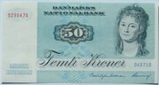 50 Kroner (1972 Serie Painting and Animal) – obverse