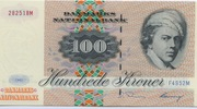 100 Kroner (1972A Serie Painting and Animal) -  obverse