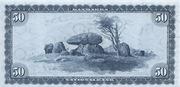 50 Kroner (Portrait and Landscape) – reverse
