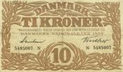 10 Kroner (Hailmann type I-III) – obverse