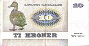 10 Kroner (Painting and Animal) – reverse