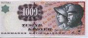 1000 Kroner (1997 Serie Famous Men and Women Type 1) -  obverse