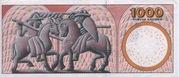 1000 Kroner (1997 Serie Famous Men and Women Type 1) -  reverse