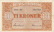 10 Kroner (Substitution Notes) -  obverse