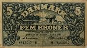 5 Kroner (Heilmann type III) -  obverse