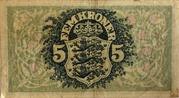 5 Kroner (Heilmann type I-III) – reverse