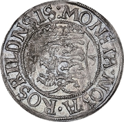 4 Skilling - Christian III (Roskilde mint) – reverse