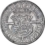 3 Mark Dansk - Frederik II (Copenhagen mint) – obverse