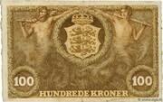 100 Kroner (Heilmann type I-III) – reverse