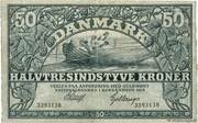 50 Kroner (Heilmann type I-III) – obverse