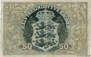 50 Kroner (Heilmann type I-III) – reverse