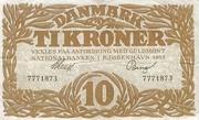 10 Kroner (Heilmann type I) – obverse