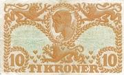 10 Kroner (Heilmann type I) – reverse