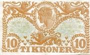 10 Kroner (Heilmann Type II) – reverse