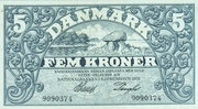 5 Kroner (Heilmann typeII) – obverse