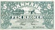 5 Kroner (Heilmann Type I) – obverse