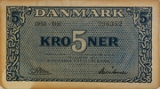 5 Kroner (Substitution Notes) – obverse