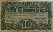 10 Kroner (Substitution Note Type 2) – obverse