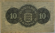 10 Kroner (Substitution Note Type 2) – reverse
