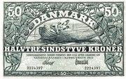 50 Kroner (Heilmann type II) – obverse