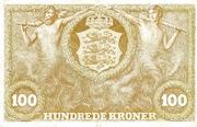 100 Kroner (Heilmann type II) – reverse