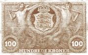 100 Kroner (Heilmann type III) -  reverse
