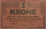 1 Krone (Skillemønt type II) -  obverse