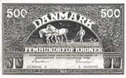 500 Kroner  (Heilmann type III) – obverse