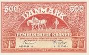 500 Kroner (Substitution Note) – obverse