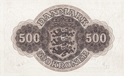 500 Kroner (Substitution Note) – reverse