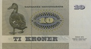 10 Kroner (1972 Serie Painting and Animal) – reverse