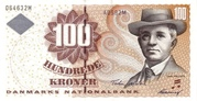 100 Kroner (1997 serie Famous Men and Women Type 1) – obverse