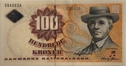 100 Kroner (1997 Serie Famous Men and Women Type 2) – obverse