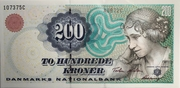 200 Kroner (1997 Serie Famous Men and Women Type 1) – obverse