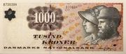 1000 Kroner (1997 Serie Famous Men and Women Type 2) -  obverse